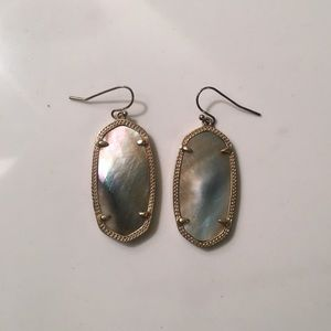 "Kendra Scott ""Elle"" Mother of Pearl Earrings"